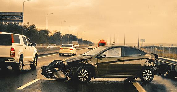 ในกรณีเกิดอุบัติเหตุแล้วคู่กรณีหนี